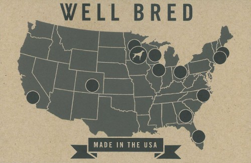 Well Bred sourcing map
