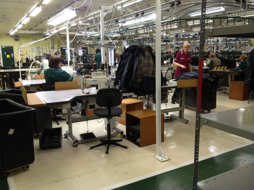 Barbour factory