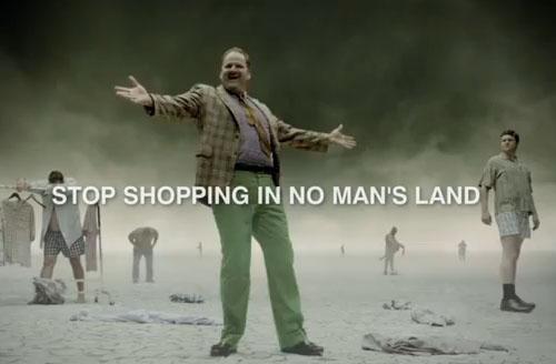 DXL Shopping No Man's Land
