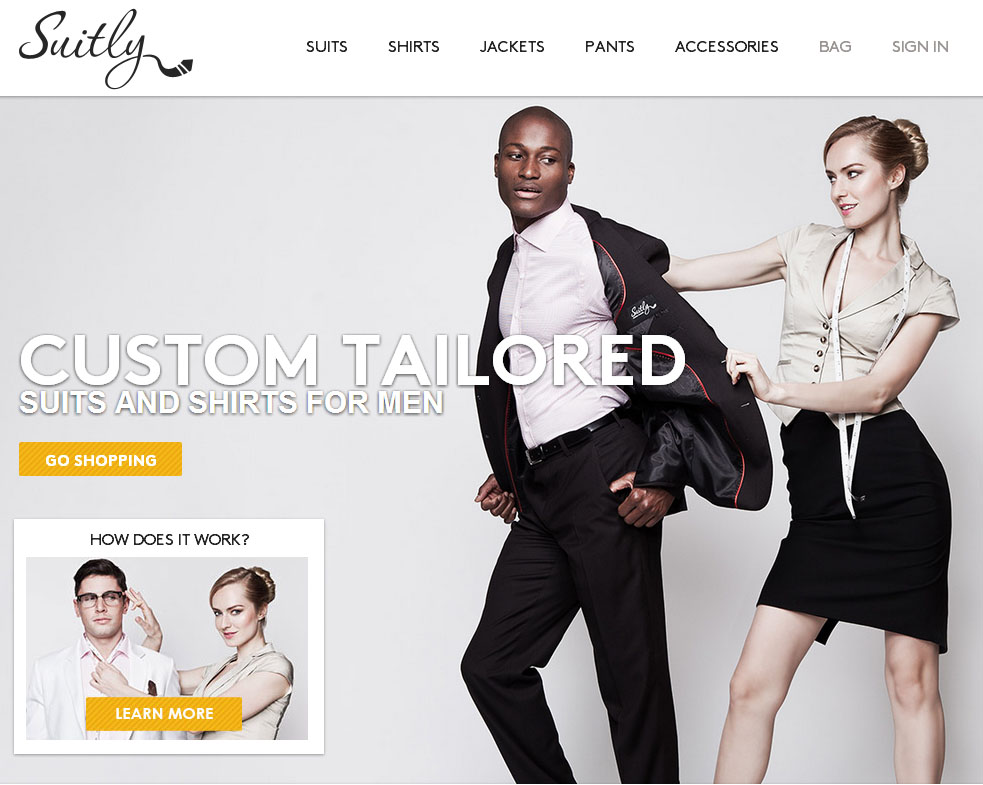 Tailor made: Online custom clothing - MR Magazine