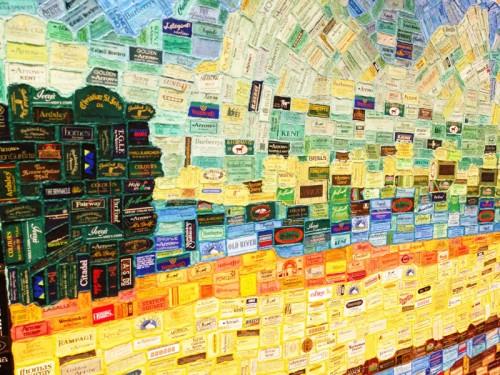 PVH Archive Hallway labels