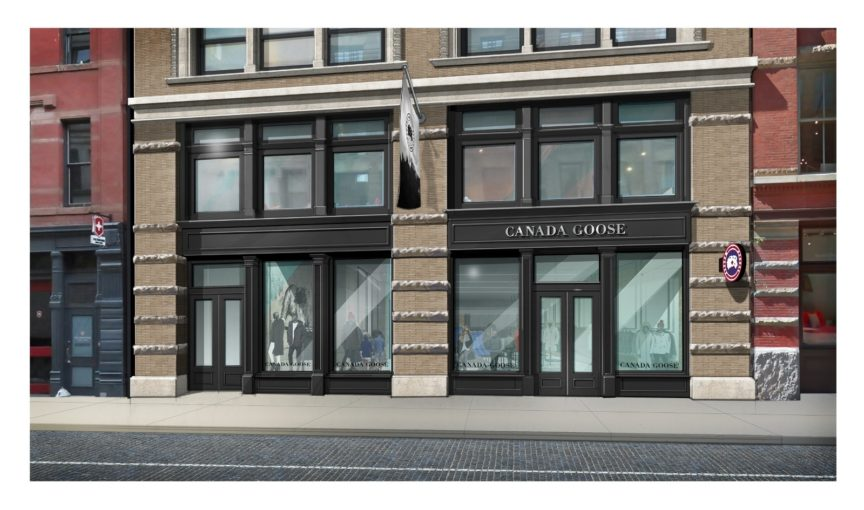 canada goose retailers london uk