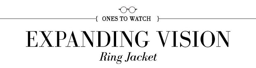 ones to watch ring jacket